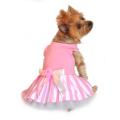 Doggie Design(ドギーデザイン)Pink Striped Dog Tank Dress ピンク ストライプ タンク ドレス