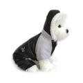 Doggie Design(ドギーデザイン)ドッグウェア Black and Grey Ruffin It Dog Snow Suit ブラック グレー ラフィン スノー スーツ