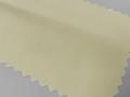 ライトイエロー(明るい黄色)/ブロード 無地 - コットン35%/ポリエステル65% - シャツ生地 - 国内縫製