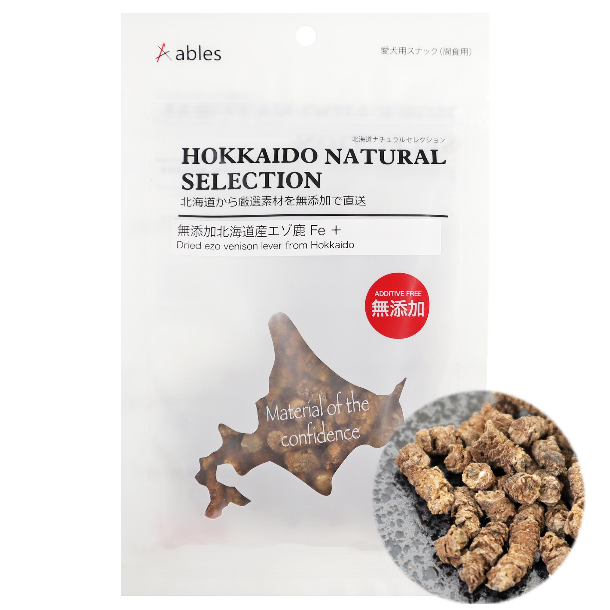 HOKKAIDO NATURAL SELECTION 無添加北海道産エゾ鹿 Fe + 30g