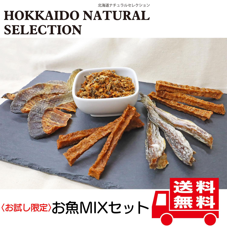 【お試し限定】【送料無料】HOKKAIDO NATURAL SELECTION お魚MIXセット