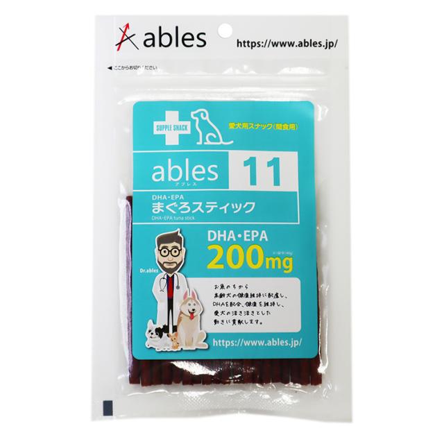 ables 11 DHA・EPA まぐろスティック 40g