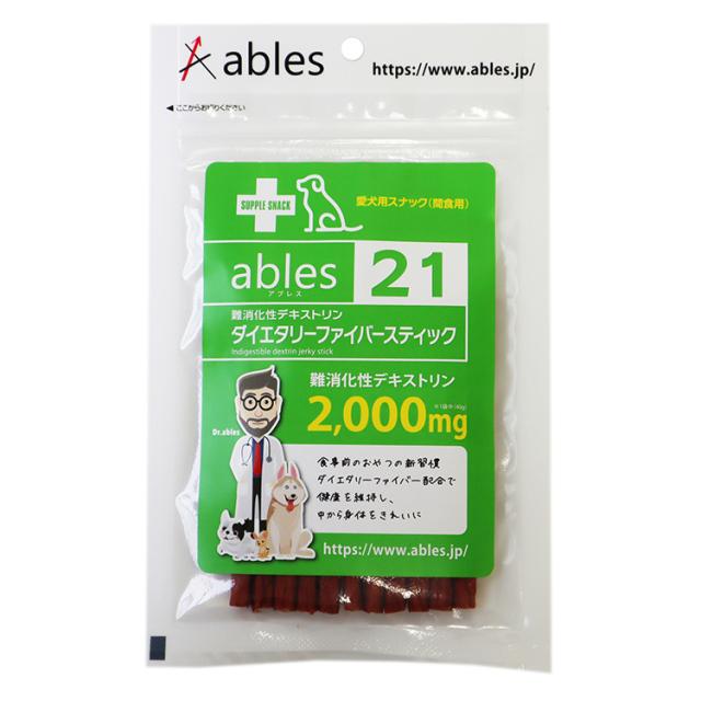 ables 21 難消化性デキストリン ダイエタリーファイバースティック 40g