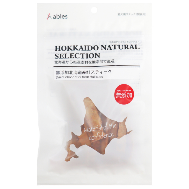 HOKKAIDO NATURAL SELECTION 無添加北海道産鮭スティック 25g