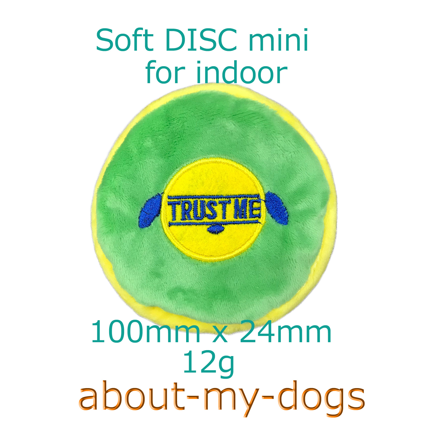 超小型タオル地ディスク直径10センチ