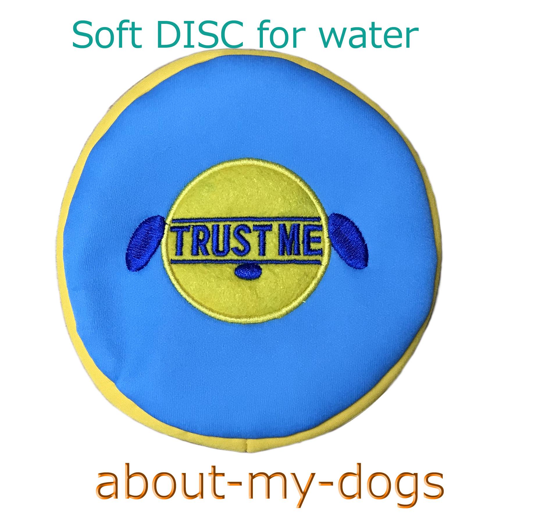 ウエット素材の柔らかディスク(水に強い浮くディスク)