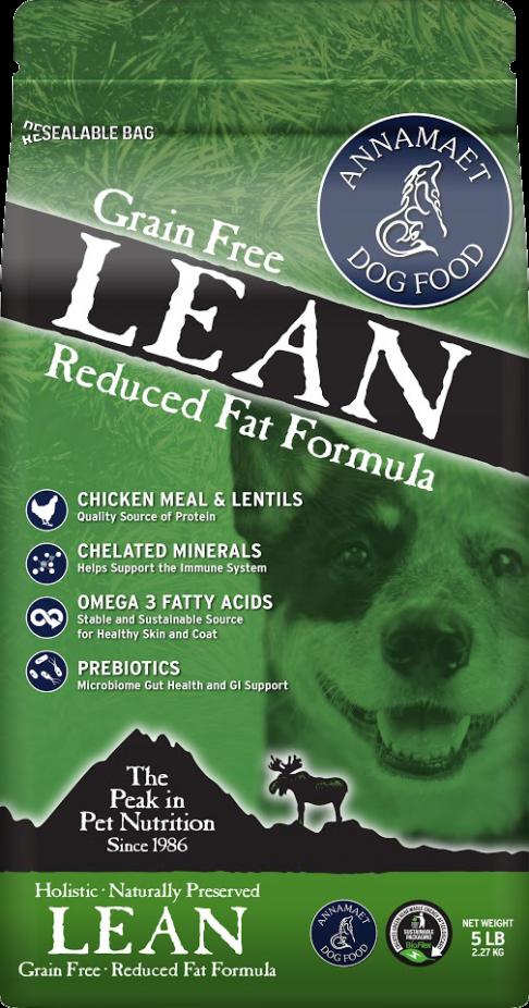 アナメイト グレインフリー「リーン」穀物不使用 粗脂肪9%以下