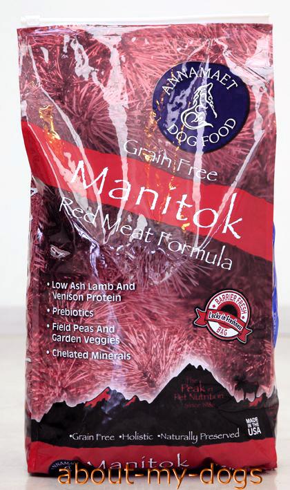 [グレインフリー]newアナメイト マニトック30% 6.8Kg(15lbs)Annamaet Manitok(新鮮骨抜きラム肉と鹿肉