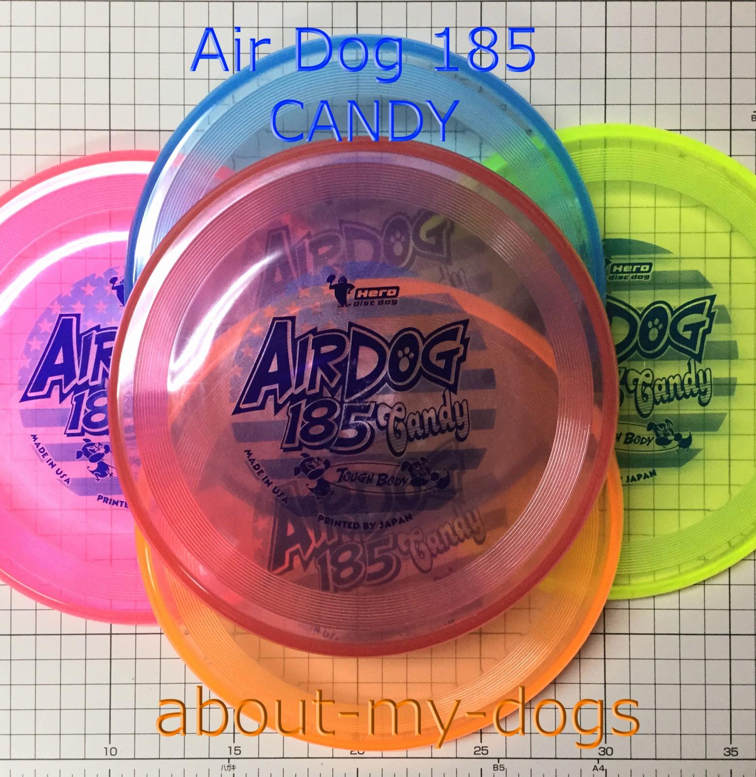 Airdog 185 CANDY new 丈夫なディスク