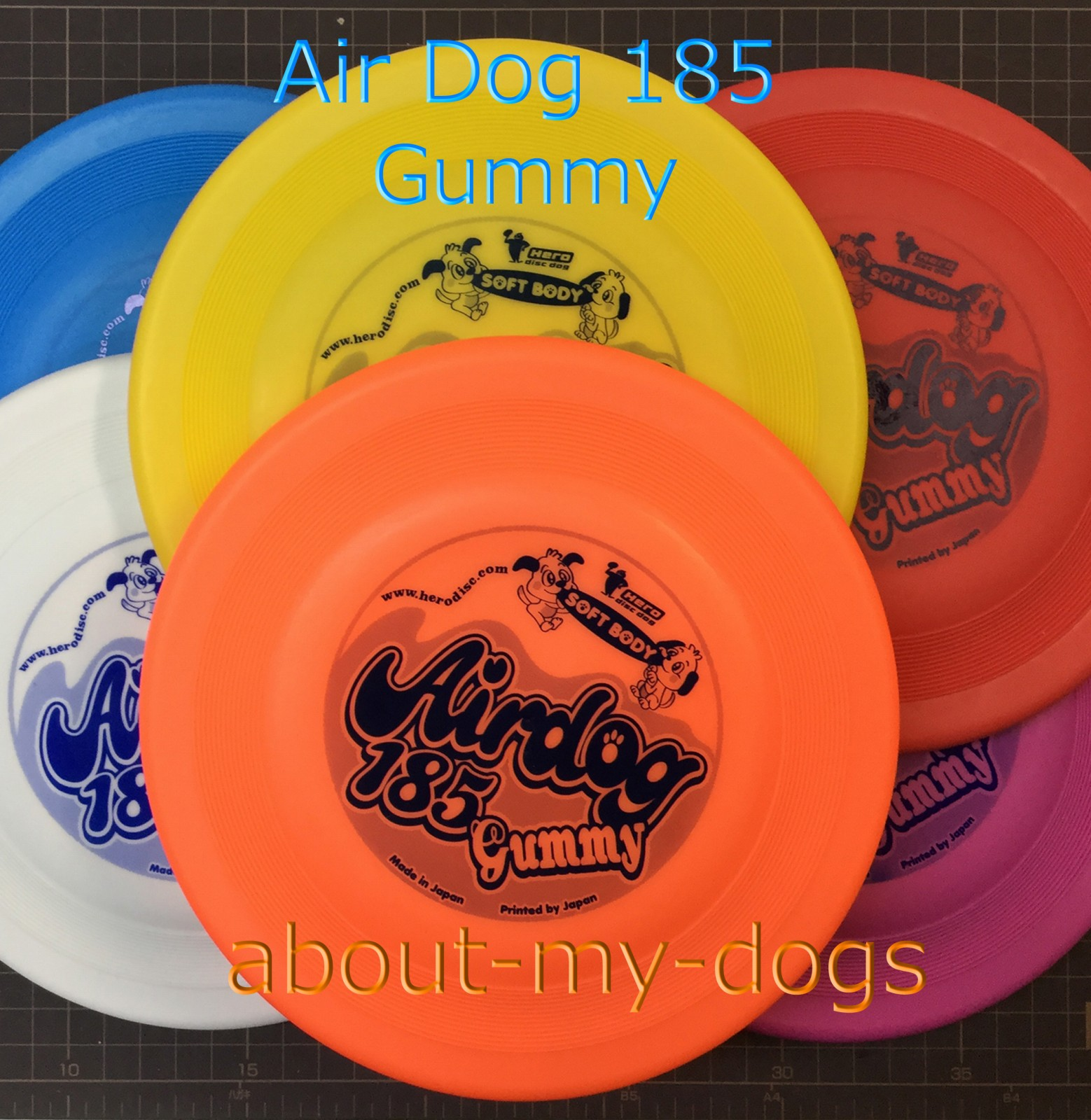Airdog 185 gummy 柔らかディスク