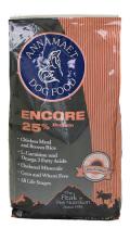 newアナメイト アンコール25% 6.8Kg(15lbs) Annamaet Encore(トウモロコシ小麦不使用/チキン玄米キビ)