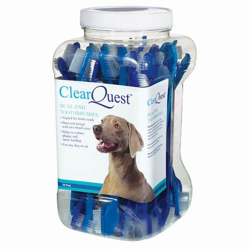 犬用両サイド歯ブラシ