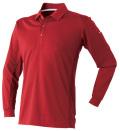 ベンチレーションポロシャツ長袖(AT673)