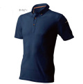 制電半袖ボタンダウンポロシャツ(AT716)