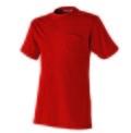 半袖Tシャツ 胸ポケット付 (綿100%) AT763