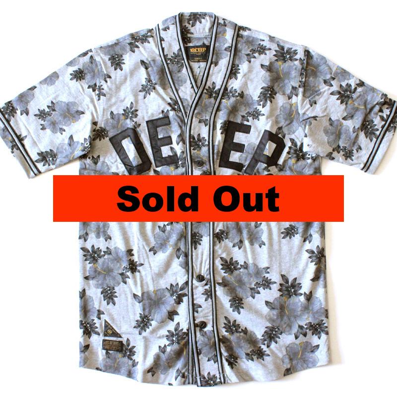【10deep/テンディープ】 The Stealing Home Jersey in Heather Grey/ベースボールTシャツ