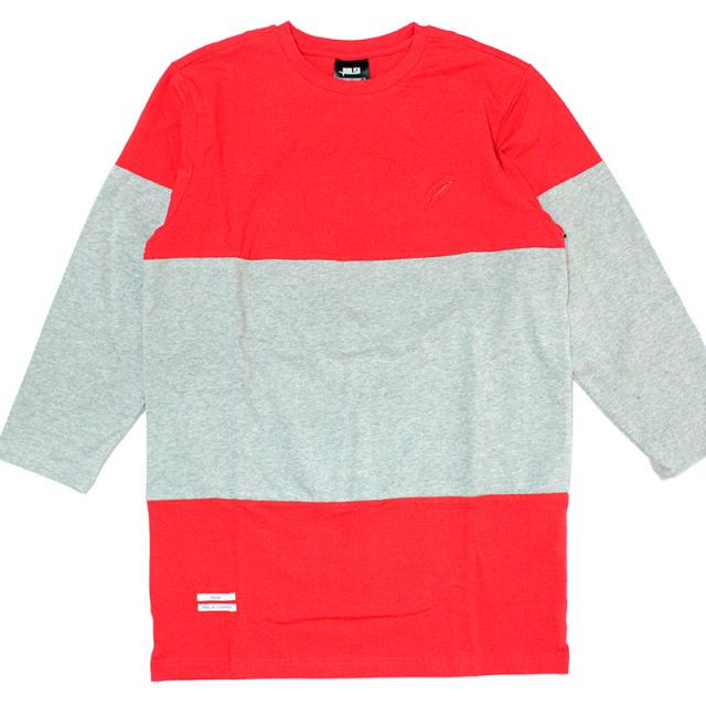 """【Publish/パブリッシュ】 """"Jonathan 3/4-Sleeve Tee/切り替え七分丈 Tシャツ"""""""