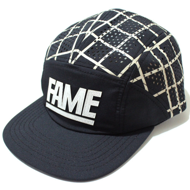 "【Hall of Fame/ホールオブフェイム】 ""Split Block Camper Hat/メッシュキャンプキャップ"""