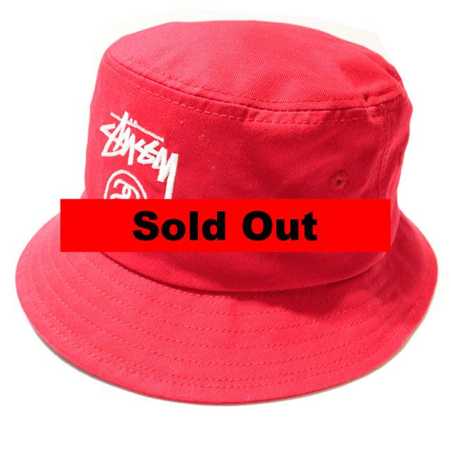 """【Stussy/ステューシー】 """"Stock Lock Summer Bucket Hat/バケットハット"""""""
