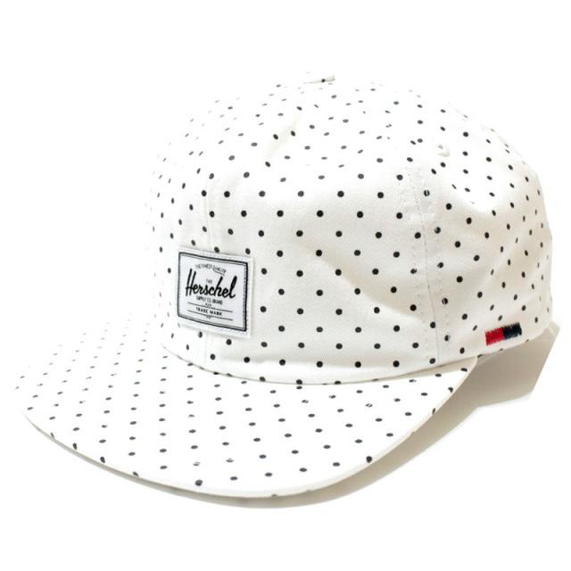 ハーシェルサプライ Herschel Supply Co.:Albert Polka Dot Strapback Hat/ポルカドットキャップ
