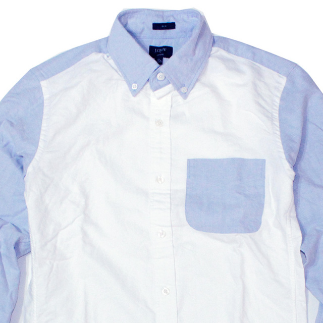 ジェイクルー J.crew:Slim Oxford Shirt/スリムオックスフォードシャツ