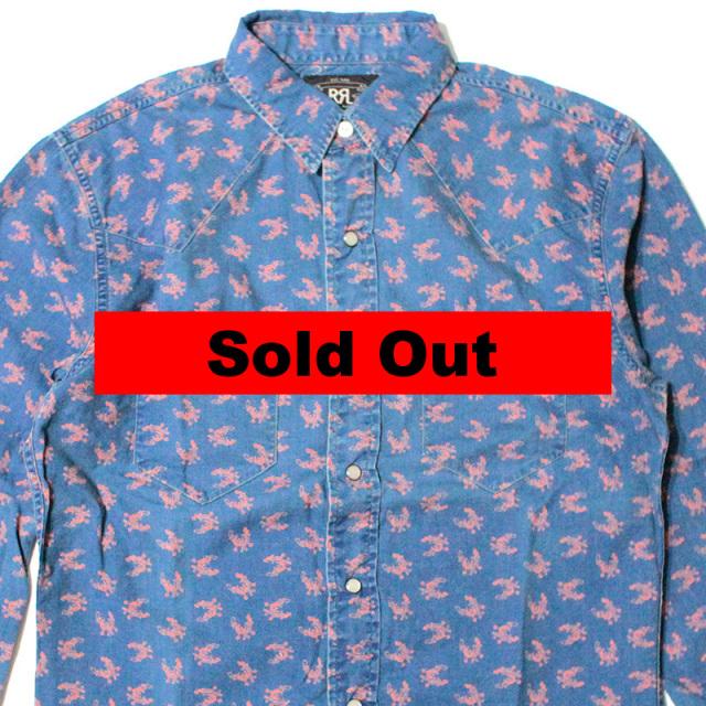 """【RRL/ダブルアールエル】 """"Western Work Shirt/ウェスタンワークシャツ"""""""