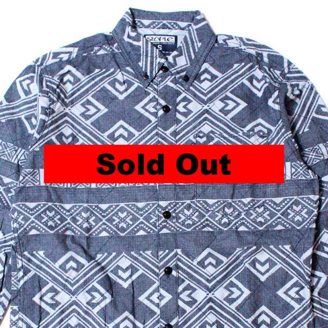 ステイプル Staple:Exeter Woven Shirt/フラップポケットBDシャツ