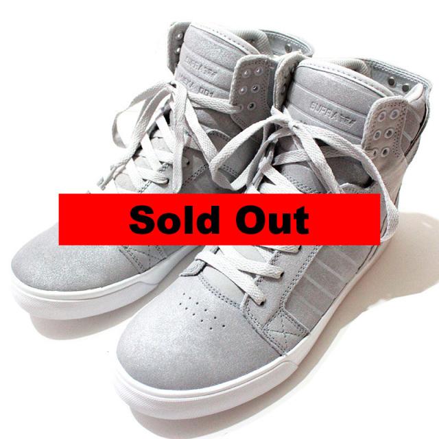 """【Supra/スープラ】 """"Skytop Metallic Skate Shoes/スカイトップスニーカー"""""""