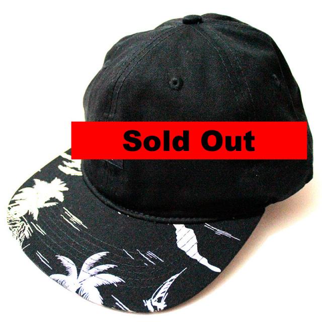 "【10deep/テンディープ】 ""Local Native Snapback Hat in Black/パームツリースナップバックキャップ"""