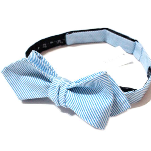 "【J.crew/ジェイクルー】 ""Stripe Bow Tie/ストライプボウタイ"""