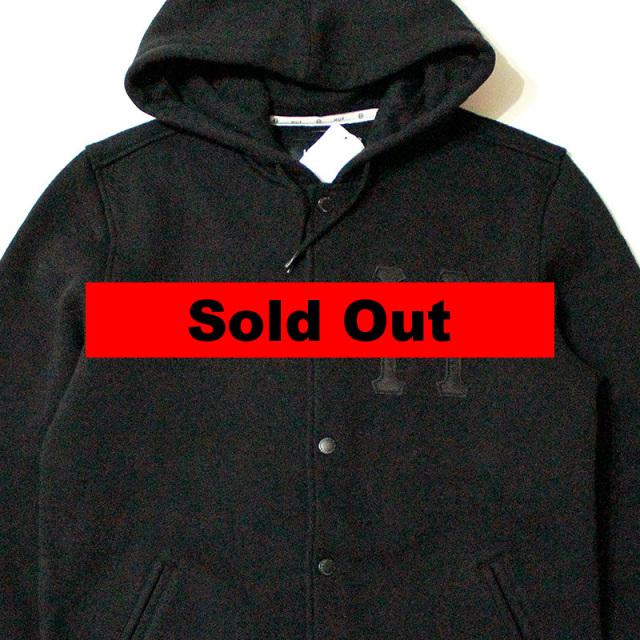 ハフ HUF:Big H Varsity Hooded Jacket/フーデットジャケット