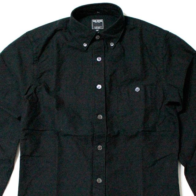 """【Todd Snyder/トッドスナイダー】""""SELVEDGE OXFORD SHIRT IN BLACK/セルビッチオックスフォードBDシャツ"""""""