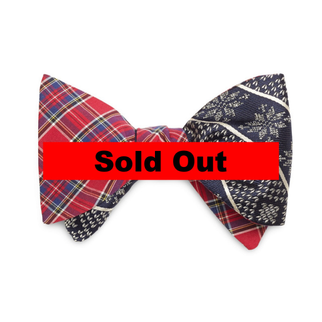 "【Brooks Brothers/ブルックスブラザーズ】 ""Multiplaid with Snowflake Reversible Bow Tie/リバーシブルボウタイ"""
