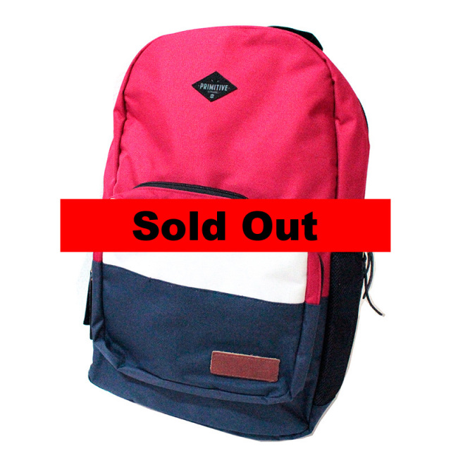プリミティブ Primitive:The Squad Backpack Red/スクワッドバックパック