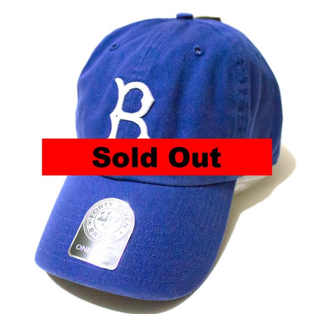 正規取扱店 フォーティーセブンブランド 47 Brand:DODGERS COOPERSTOWN '47 CLEAN UP CAP Royal/ドジャース クリーンアップキャップ ロイヤル