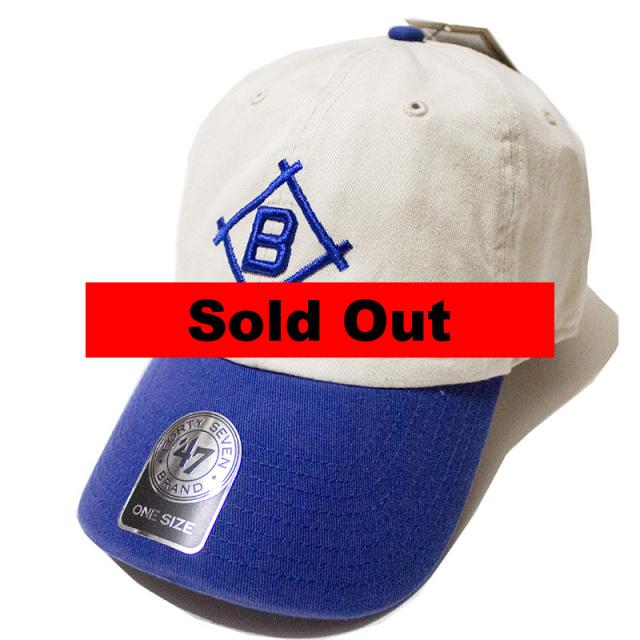 正規取扱店 フォーティーセブンブランド 47 Brand:DODGERS COOPERSTOWN '47 CLEAN UP CAP Natural/ドジャース クリーンアップキャップ ナチュラル