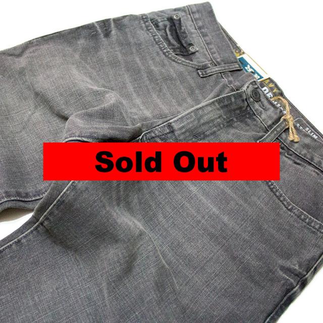 オールドネイビー Old Navy:Slim Straight Black Jean/スリムストレートブラックジーンズ