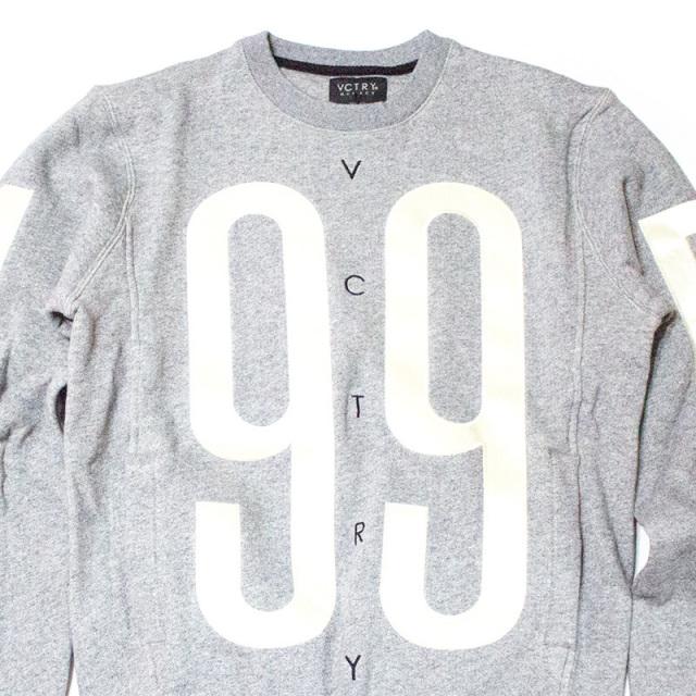 テンディープ 10deep:The Games Sweatshirt Grey Marl/ゲームスウェットシャツ グレー