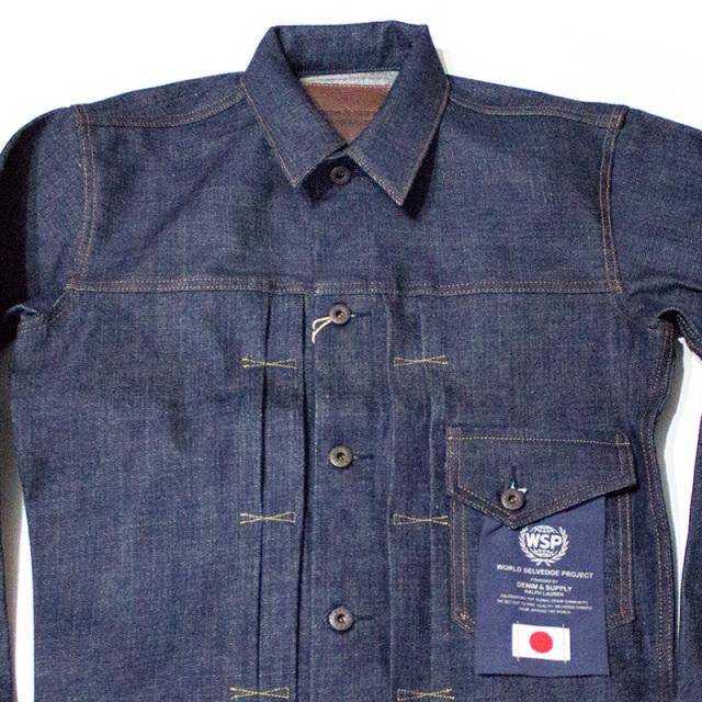 デニムアンドサプライ Denim&Supply:Japanese selvedge Denim Jacket/ジャパニーズ セルビッチ デニムジャケット
