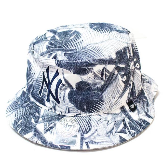 47 Brand:Yankees '47 Ohana Bucket White