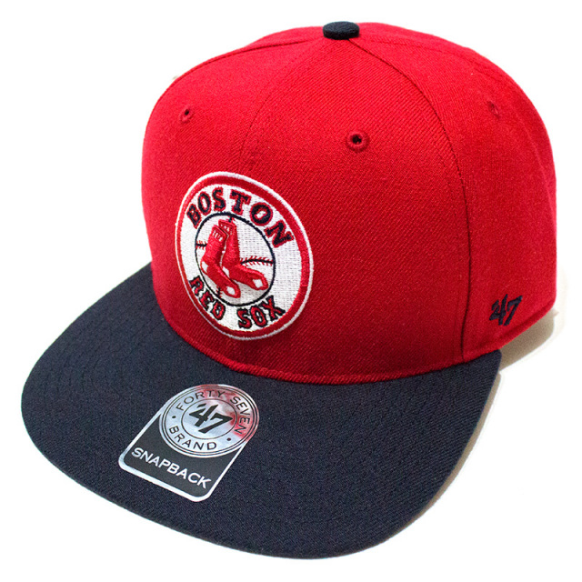 47 Brand:RED SOX Cooperstown Sure Shot Two Tone '47 CAPTAIN