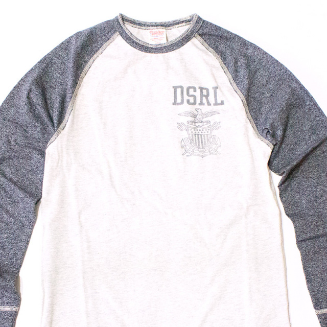 Denim&Supply:RAGLAN COTTON JERSEY TEE