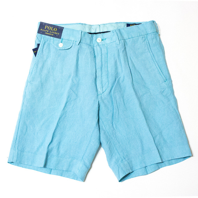 Polo Ralph Lauren:STRAIGHT-FIT LINEN SHORT