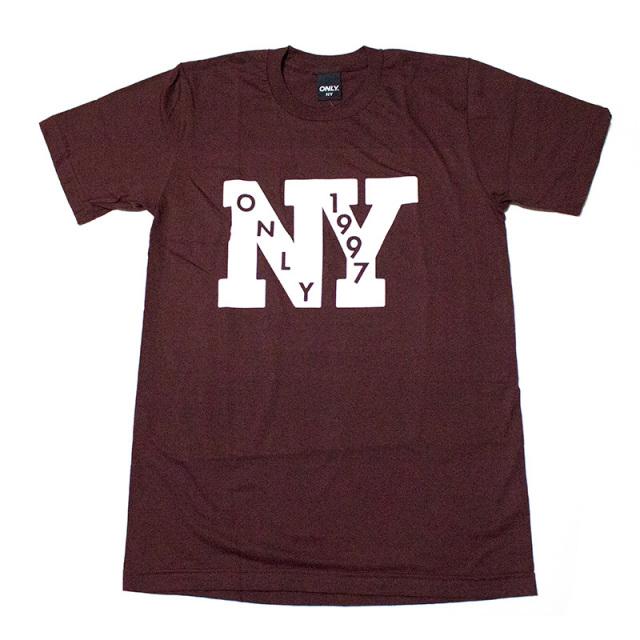 オンリーニューヨーク ONLY NY:Outfield Tee/NYプリントTシャツ