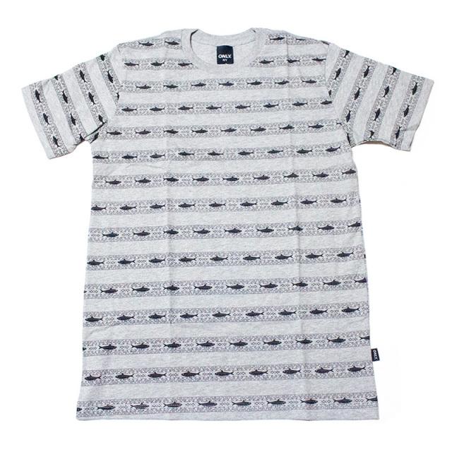 オンリーニューヨーク ONLY NY:Tribal Herring Tee/トライバルヘリングTシャツ