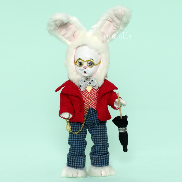 「White Rabbit」マダムアレクサンダー8インチ
