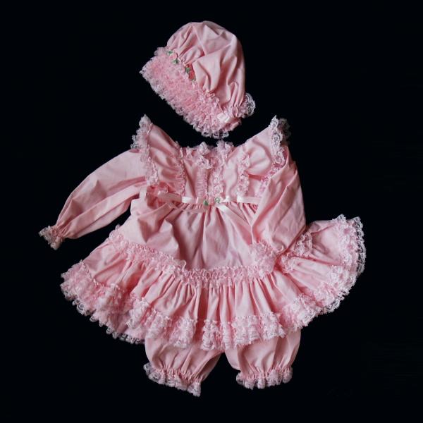 プリティピンクドレス