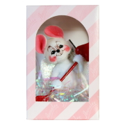 "<箱難有り>4"" Cupid Mouse in Gift Box [アナリー Annalee Dolls 031904]"