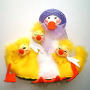 """<撮影使用>10"""" Bunch of Duckies [アナリー Annalee Dolls 150404]"""