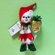 """<撮影使用>6"""" Elf Mouse [アナリー Annalee Dolls 768804]"""